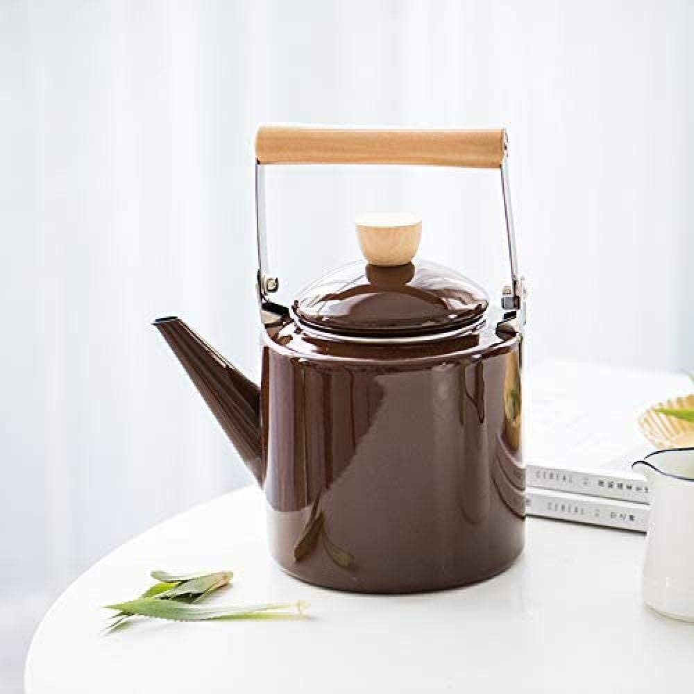 GUOCAO Teapot Tea Pots Challenge the lowest Free shipping / New price of Japan Enameled Kettle Kettles Sets