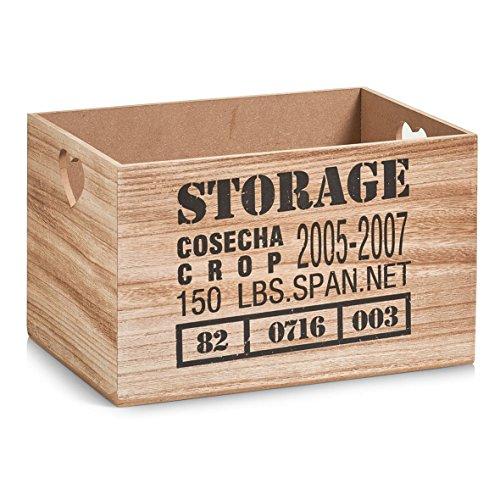 Zeller Aufbewahrungs-Kiste Storage, MDF, Holz, Natur, 33x23x20 cm