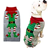 HAPEE Dog Sweaters for Christmas Santa Pet Cat...