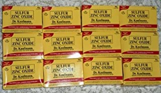 Lot of 12 Dr. Kaufmann Medicated Sulfur Soap