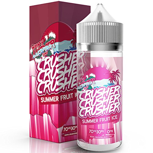 Summer Fruit ICE (100ml) Plus e Liquid by Crusher Nikotinfrei