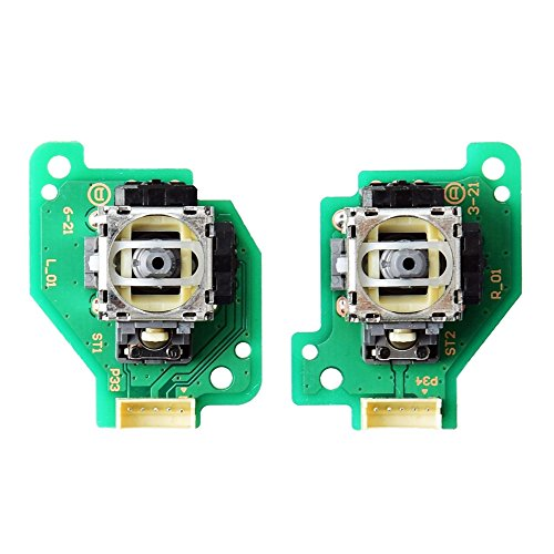 Gam3Gear Analog Stick mit PCB Board für Nintendo Wii U GamePad Steuerpult links rechts Set