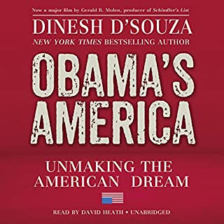 Obama's America audiobook cover art