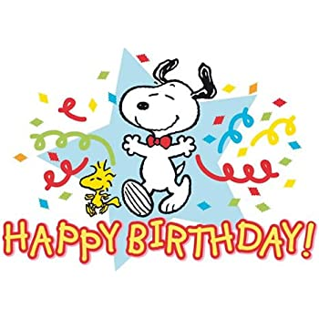Happy Birthday Snoopy Die Peanuts In Zusammenarbeit Mit