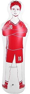 Alomejor - Saco de Boxeo Hinchable para Entrenamiento de fútbol (1,6 m, 0,35 m, PVC)