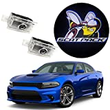 EastFly Never Fade Door Light Led Logo for Dodge Charger Magnum Projector Ghost Shadow Pud...