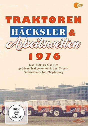 Traktoren, Häcksler & Arbeitswelten 1976 - Das ZDF zu Gast im Traktorenwerk Schönebeck