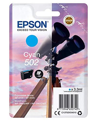 Epson originele verrekijker inkt Normale verpakking Standard cyaan