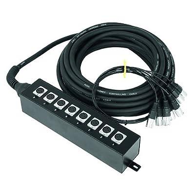 Omnitronic Multicore Stage box 8IN 20m 20m Cables