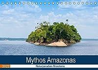 Mythos Amazonas - Naturparadies Brasiliens (Tischkalender 2022 DIN A5 quer): Brasilien im Herzen des Amazonabeckens entdecken (Monatskalender, 14 Seiten )