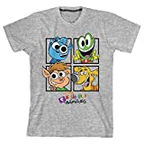 Bioworld Youth Hobby Kids Short-Sleeve T-Shirt-Small Gray