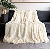 Faux Fur Blanket 50' x 60',Fuzzy Baby Blanket Cozy Plush Bedding Decorative Throw Blanket for Couch Sofa Bedroom,Microfiber Throw Blankets
