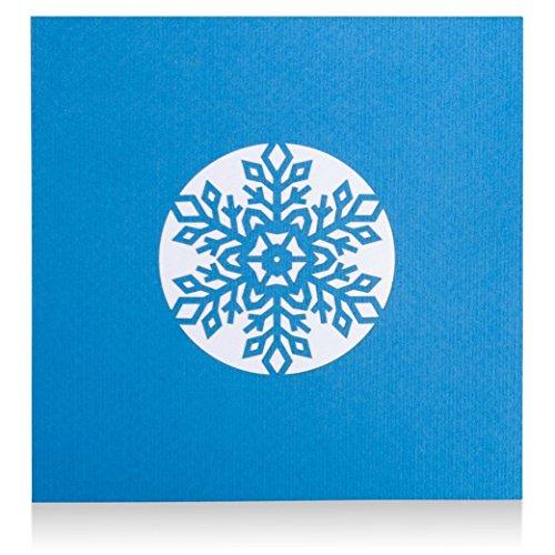 lovepop Snowflake Pop Up Christmas Card