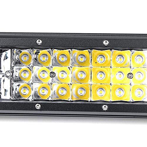 JenLn Automotive -lichtstrips duurzaam 20 inch auto quad serie 112 LED werklampen bar combo off-road rijden waterdicht IP67 zijdelingse licht uitstralende strips