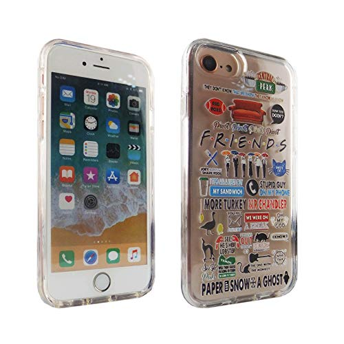iPhone 6S 7 8 CASEMPIRE Friends TV Show Hybrid Case Shock Proof Never Fade Slim Fit Cover for IP 6S 7 8 Friends Quotes