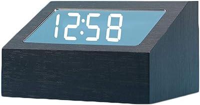 Limeinimukete Reloj Digital de Mesa con termómetro, Calendario ...
