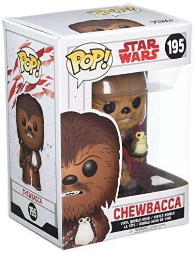 Funko 14748 POP Bobble: Star Wars: E8 TLJ: Chewbacca with Porg