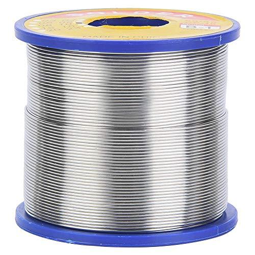 Filo per saldatura, 2% Flusso di filo di stagno 60/40 Filo di saldatura Premium Bobina di saldatura Nucleo di rame 0,6~1 mm(1 millimetro)