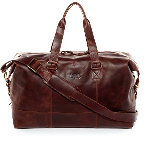 avis classement chocolat du monde professionnel SID & VAIN Travel Bag Ale Leather Bag Weekend Messenger 50cm Large Travel Bag…