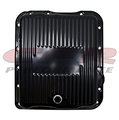 Compatible/Replacement for CHEVY/GM 700R4-4L60E-4L65E STEEL TRANSMISSION PAN (DEEP SUMP) - EDP BLACK