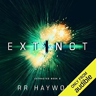Extinct audiobook cover art