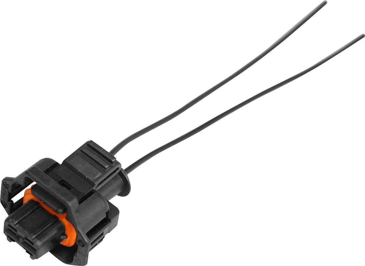 8PCS Iniettore Cablaggio del connettore s Clip di Ricambio per EV1 OBD1 Treccia Cut//Splice