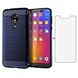 Phone Case for Motorola Moto G7 Play and Tempered Glass