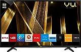 VU 80 cm (32 Inches) HD Ready Smart LED TV 32OA (Black) (2019 Model)