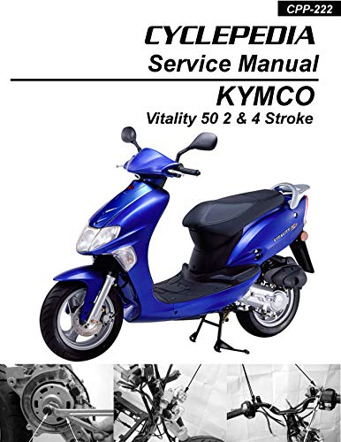 KYMCO Vitality 50 Scooter Online Service Manual (English Edition)