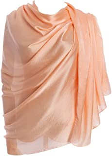 Women's Scarves 100% Silk Long Lightweight Scarfs for women