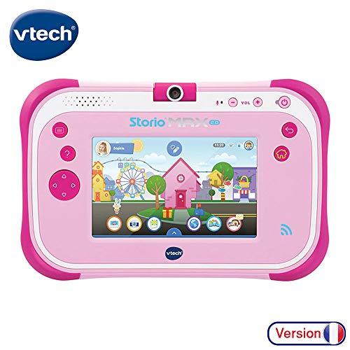 VTech - Storio Max 2.0 rose - Tablette pour Enfant 3 ans à 11 ans - Ecran Tactile 5 pouces