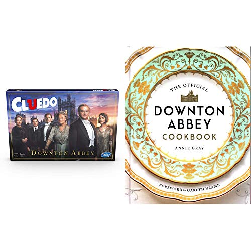 Cluedo Downton Abbey Edition Board Game for Kids Ages 13 and up, Inspired By Downton Abbey & The Official Downton Abbey Cookbook