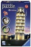 Ravensburger - Puzzle 3D, edición Torre de Pisa, Night Edition (12515)
