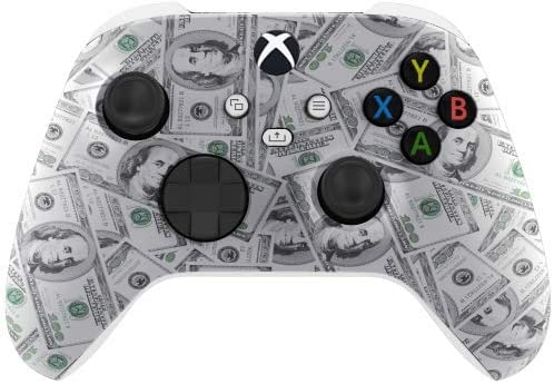 Money Wireless Custom Controller for Xbox Series X Series S Xbox One White Base product image