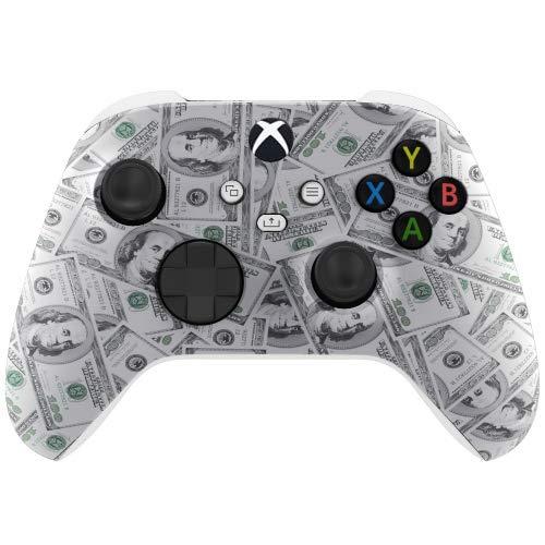 Money Wireless Custom Controller for Xbox Series X Series S Xbox One (White Base)