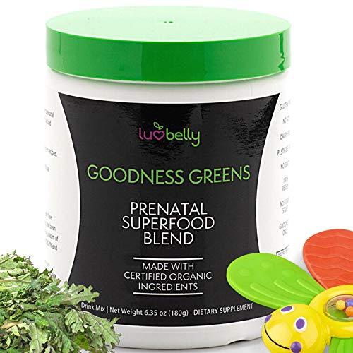 Prenatal Green Powder Organic Supplement