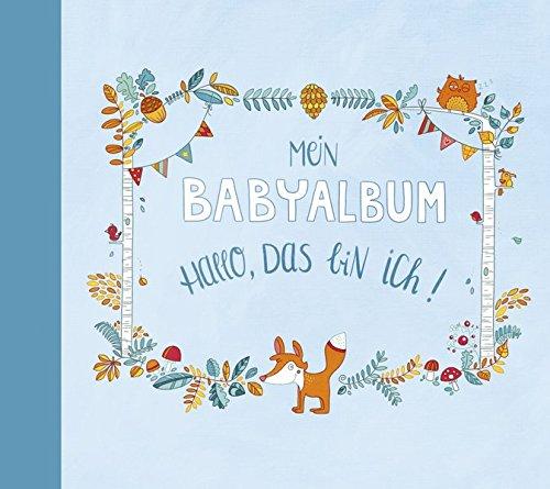 Mein Babyalbum – Hallo, das bin ich! (Jungen)