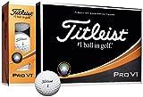 TITLEIST(タイトリスト) ゴルフボール Pro V1 3ピース(ローナンバー) 12個入り ホワイト T2025S-J