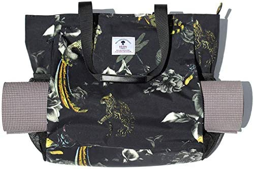 ESVAN Yoga Mat Bag Yoga Tote Carrier Shoulder Bag Carryall Tote for Office Yoga Pilates Travel product image