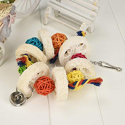 Yowablo Interaktive Hundespielzeug welpen Molar Biss Pet Hundezahnbürste Zahnbürste Katzen Hund Spielzeug Ball Haustier Spielzeug Quietschspielzeug Hundespielball (30cm,B)
