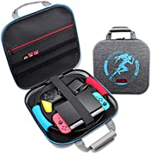 Nintendo Switch Ring Fit Adventure Carrying Case,YIKESHU Large Shockproof Portable Travel Bag Compatible With Switch Conso...