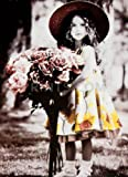 Kim Anderson - Untitled - Girl with Bouquet Art Print NO LONGER IN PRINT - LAST ONES!!