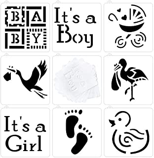 Best baby footprint stencil for cakes Reviews