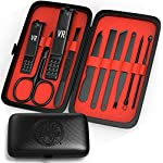 Viking Revolution Manicure Set for Men - Mens Nail Care Kit with Nail Clippers for Professional Grooming - Pedicure and… 2
