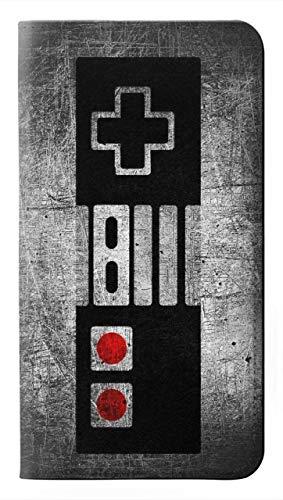 Innovedesire Gamepad Controller Minimalism Flip Hülle Tasche Klappetui für Motorola Moto E6, Moto E (6th Gen)