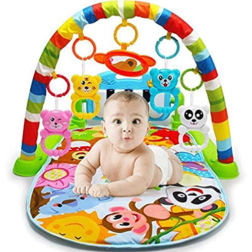 Learn More About DEJA Baby Fitness Rack, Baby Games Fitness Toys Large Children's Fitness Game Mat P...