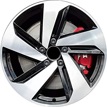 Factory Wheel Replacement New 18x7.5 18 Inch Premium Aluminum Alloy Wheel Rim for 2019 VW Volkswagen Golf GTI | ALY70056U45N | Direct Fit - OE Stock Specs