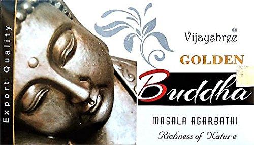 yesmandala - incenso vijay shree–Golden Buddha–12scatole x 15G