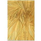 Sizzix Carpeta de repujado Textured Impressions 3D, 664504, Hojas caídas de Georgie Evans, Talla única