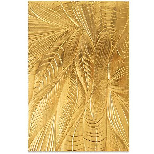 Sizzix 3-D Strukturierte Impressionen Prägeschablone 664504 gefallene Blätter von Georgie Evans